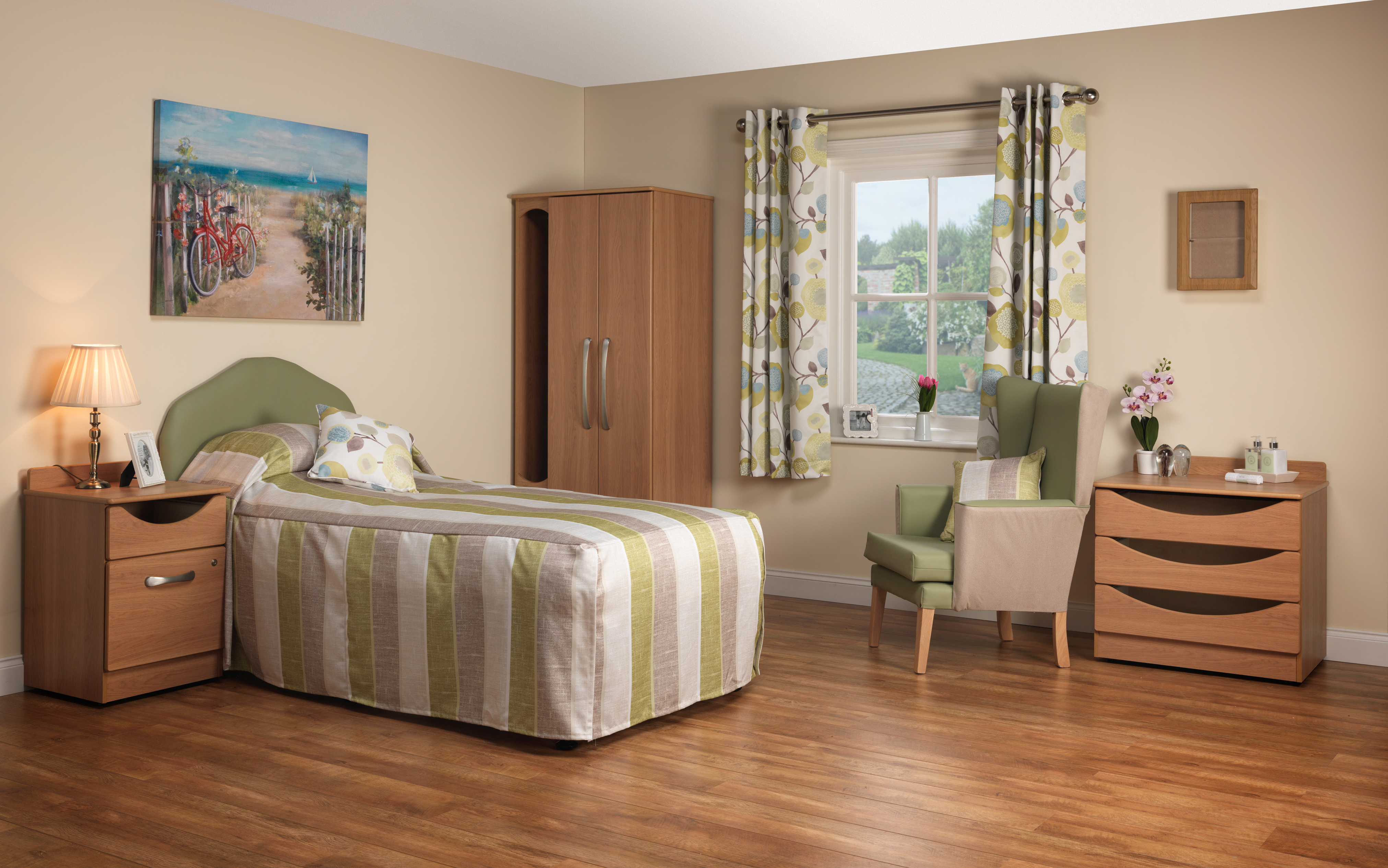 Extending The Period Of Independence For Residents Suffering With Dementia In A Bedroom Environment