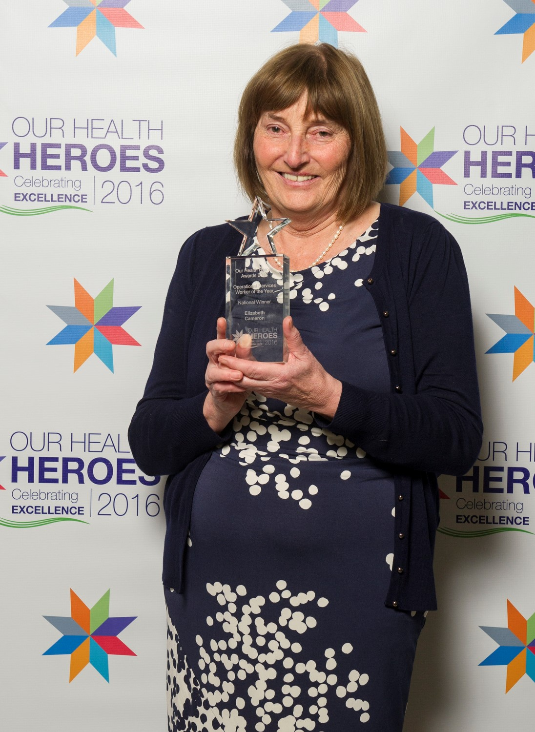 UK'S HEALTH HEROES REVEALED Elizabeth Cameron