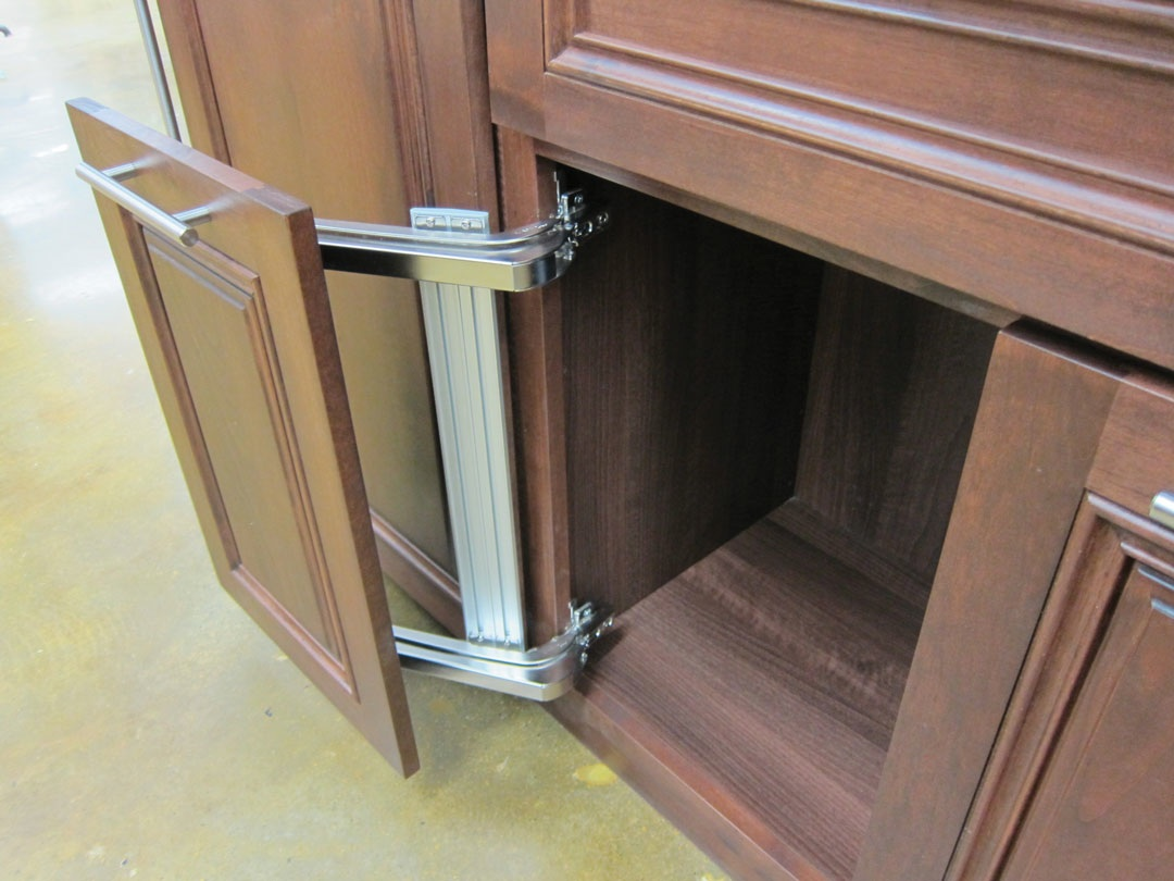 How A Space Saving Kitchen Door Mechanism Can Be A Boon For Wheelchair Users